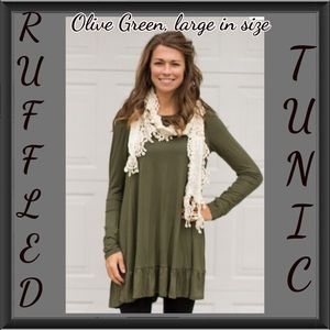 Ruffled Tunic top